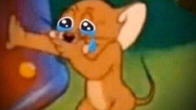 صورة جيري يبكي